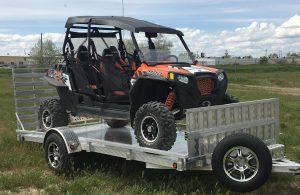 aluminum utility trailer sw14s