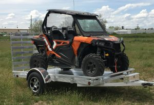 aluminum utility trailer sw10s